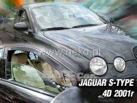 Plexi, ofuky JAGUAR S-Type 4D, 2001 =>, přední