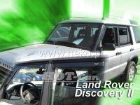 Plexi, ofuky Land Rover Discovery II 5D. 1999-2004, přední + zadní