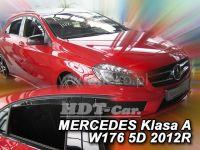 Plexi, ofuky Mercedes A W176 5D 2012 => přední + zadní