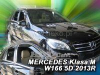 Plexi, ofuky Mercedes GL X166 5D 2013 =>, přední + zadní