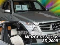 Plexi, ofuky MERCEDES GLK, 5D, 2009 =>, přední