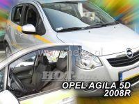 Plexi, ofuky OPEL Aglia 5D, 2008 =>, přední
