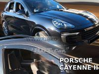 Plexi, ofuky Porsche Cayenne 5D 10R =>, přední