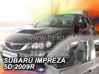 Plexi, ofuky SUBARU Impreza GH 5D, 2008 =>, přední