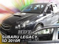 Plexi, ofuky SUBARU Legacy 4/5D, 2010 =>, přední
