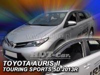 Plexi, ofuky Toyota Auris II touring 5D 2013 => přední + zadní
