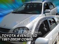 Plexi, ofuky Toyota Avensis 5D 97-2003, combi, přední + zadní