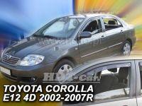 Plexi, ofuky Toyota Corolla 4/5D 02-2007 =>, přední