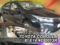 Plexi, ofuky Toyota Corolla E 16 (XI gen) 4D 2013 => sedan