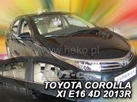 Plexi, ofuky Toyota Corolla E 16 (XI gen) 4D 2013 => sedan, přední+zadní