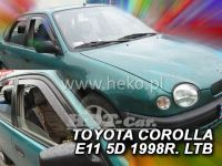 Plexi, ofuky Toyota Corolla E11 4/5D 97-2001, TMP-80, přední
