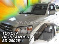 Plexi, ofuky Toyota Highlander 2001-2007, USA přední