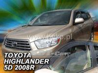 Plexi, ofuky Toyota Highlander 2007 USA přední