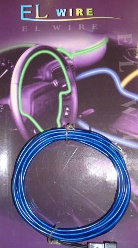 Neonový kabel - 1,5m Modrý Vyrobeno v EU