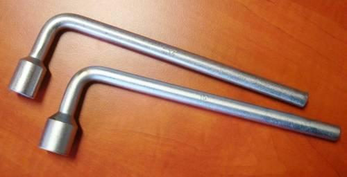 Klíč na matice kol (fajfka) 17 mm Vyrobeno v EU