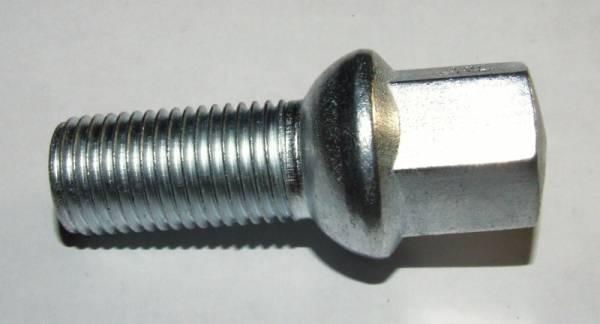 Kolový šroub Octavia M14 x 1,5 x 28mm sedlo kulové iz