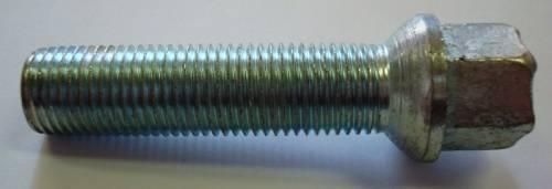 Kolový šroub Octavia M14 x 1,5 x 52mm, extra dlouhý, kulové iz